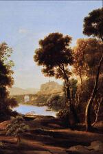 502020 Landscape Claude Gellee A4 Photo Print