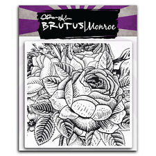 Brutus Monroe - Enchanted Rose Background Stamp