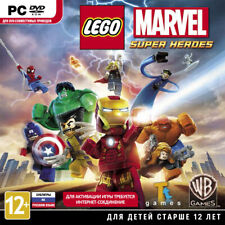 LEGO Marvel Super Heroes PC RU DVD Jewel Case Brand New Free Shipping
