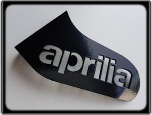 APRILIA RSV MILLE 1000 Style Racing Shark Fin - Black Toe Guard