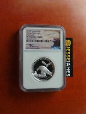 2018 $1 AUSTRALIA WEDGE TAILED SILVER EAGLE NGC NGC PF70 HIGH RELIEF MERCANTI