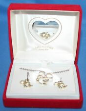 Nice VINTAGE Disney Mickey Mouse Earring & Necklace Set