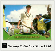 2001-02 Topps Gold Cricket Cards Record Breakers Card R6 Australia VS India