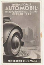 Ak internationale Automobil - & Motorrad Ausstellung Berlin 1938 (A3470