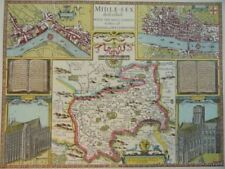 London Middlesex Antique Europe Maps & Atlases