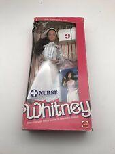 Barbie Nurse Whitney Doll #4405 New NRFB 1987 Mattel