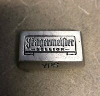2oz 999+ Fine Silver - Yeagermeister Bullion bar by Yeager's Poured Silver - YPS