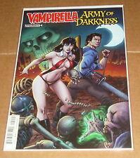Vampirella Army of Darkness #4 Tim Seeley Variant Edition 1st Print