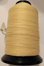 Conso Products 4oz Spool T70 Natural 1340 Yards Bonded Nylon Sewing Thread V69