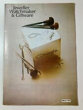 Vintage Australian Jeweller Watchmaker & Giftware Brochures March 1976