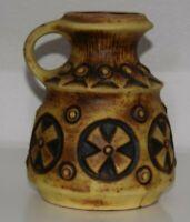 GS Keramik 703/18 Design Vase 70s 60s WGP Fatlava  MCM Vintage