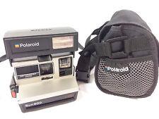 Vintage Polaroid Sun 600 LMS Instant Film Camera w/ Camera Bag