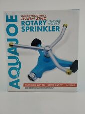 New listing Aqua Joe Indestructable 360° Rotary Lawn Sprinkler - Pre-Owned