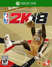 NBA 2K18: Legend Edition Gold - Xbox One 1 - NEW & SEALED!