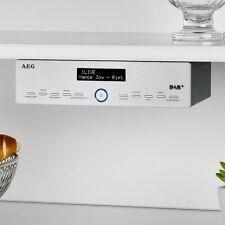 Under Cabinet Kitchen Radio DAB+ FM 3 Level Dimmer Music LCD Display
