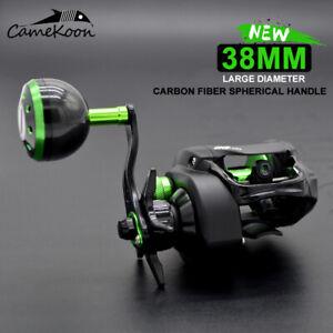 CAMEKOON 5 Colors Baitcasting Reel 7.3:1 Power Handle Saltwater Casting Fishing