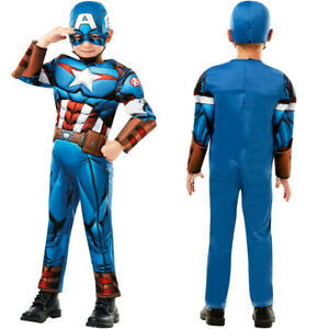 Captain America Déguisement Garçons Déguisement Super Héro