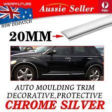 5M x 20mm Car Silver Chrome Moulding Trim Door Window Body Side Decoration Strip