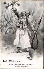 CPA  Militaire - Le Clairon - Les Chants du Soldat  (695172)