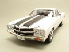 CHEVROLET EL CAMINO 1970 blanco, Coche Modelo 1:18 / WELLY