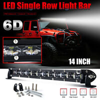 "CoLight 12"" 14"" CREE LED Light Bar Slim Super Bright Strong Beam High Quality"