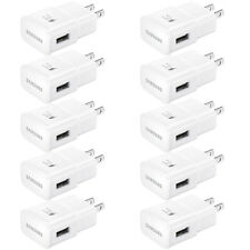 10x OEM Samsung Adaptive Fast Charging Wall Charger For Galaxy S8+ S9+ S10 S10+