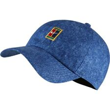 NEW Nike Heritage Denim Hat (Cap Jean Mens Womens Unisex Tennis Agassi 86 Blue )