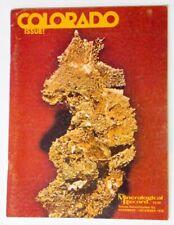 Mineralogical Record magazine , Volume 7, No. 6, 1976 - rare Colorado issue