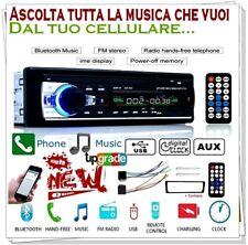Stereo per auto con schermo con USB Bluetooth AUX Radio FM Lettore MP3 Autoradio
