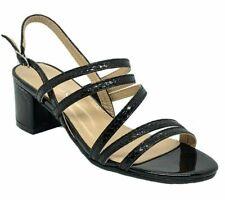 DODO H43-101 Women's Black Pageant Dress Evening & Party Shoes size 7
