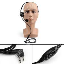 1x Heavy Duty Overhead Headset For Motorola CP1660/1300 GP300/308/88/88S Radio