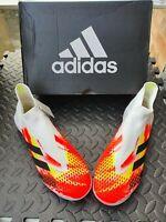 Adidas Predator Mutator 20+ TF Turf UK 9 - White Black Pop - Brand New In Box!