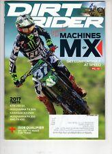 Dirt Rider Motocross Magazine Sept 2016 Husqvarna Tx 300 Fx 450