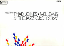 JAZZ.THAD JONES & MEL LEWIS.PRESENTING.RARE UK ORIG LP.VG+/EX