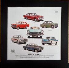 Classic Vauxhall Stunning Artwork Print  Victor/Cresta/Viva