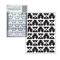 Southwest Pattern Embossing Folder Darice Craft Folders 30041364