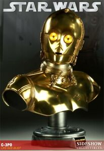 !READ INFO! Sideshow C-3PO Life-Size 1:1 Bust One of 750 RARE FIRST EDITION BNIB