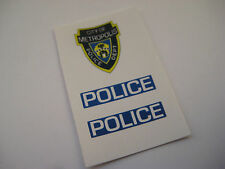 Corgi Juniors 17 Superman Police Car Stickers - B2G1F