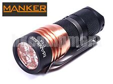 MANKER E14 Cree XP-G3 LED 1600lm 18350 Torch 2016