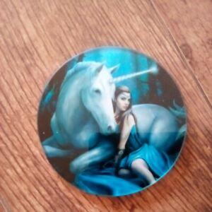 Anne Stokes Glass Coaster