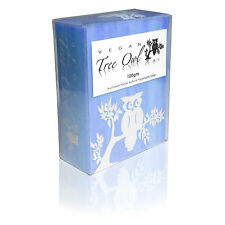 BLUE CYPRESS Palm Oil Free Natural Soap by Vegan Tree Owl - 3 Pack