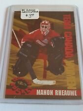 1994 Classic Women of Hockey #W1 Manon Rheaume