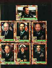 1991 TOPPS DESERT STORM SERIES 1 COMPLETE SET 88 CARDS PLUS 22 STICKERS