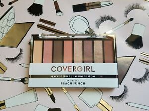 """CoverGirl TruNaked Tru Naked 8 Color Scented Eyeshadow Palette """"PEACH PUNCH"""" New"""