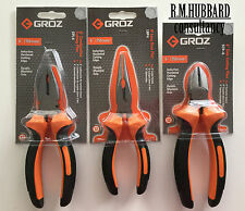 Engineers Combination Pliers Set. Quality tools by Groz.