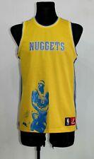 Camiseta de baloncesto NBA Denver Nuggets majestuoso juvenil L Mens S Carmelo Anthony