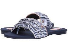 Ted Baker Women's Towdi Blue Textile Sandals Size 6