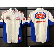 Chips Pata Honda Racing Team World Superbike WSBK Shirt Pirelli Ten Kate size M