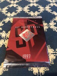 NBA Upper Deck - SP Booster Pack - 1997 - 1 SP Basketball Card - Hyper Rare Pack