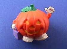 Buy1&Get1@50%~Hallmar k Merry Miniatures Halloween Pumpkin Trick or Treat Vtg